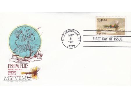Duże zdjęcie USA 1991 - FDC Folk Art