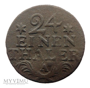 1/24 talara, Fryderyk II Wielki, 1782