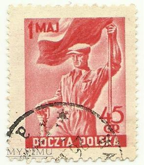 Święto 1 Maja 1951 rok