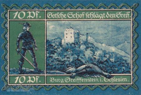 Duże zdjęcie Notgeld Greiffenberg in Schlesien 10 Pf.
