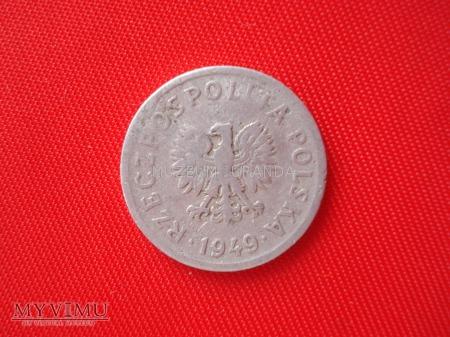 10 groszy 1949 rok
