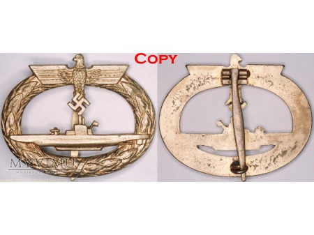 Duże zdjęcie Odznaka dla Załóg Łodzi Podwodnych