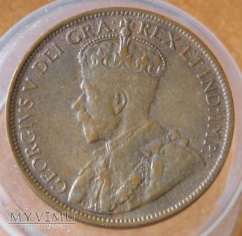 1 Cent Kanadyjski 1918