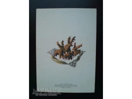1968 Szczęśliwego Nowego Roku Karnet artystyczny