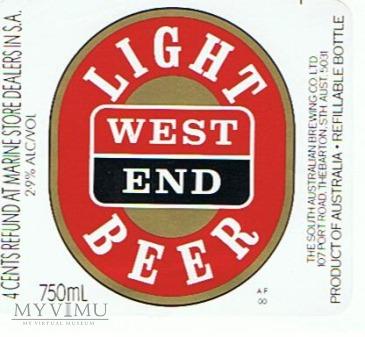 west end light beer