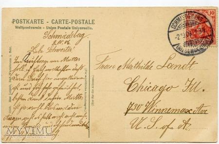 Karkonosze Samotnia Teichbaude 1906