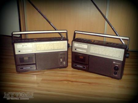 Radiomagnetofon Kasprzak RM222 i RM221