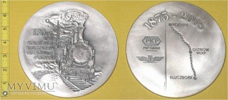 Medal kolejowy linii Kluczbork - Poznań