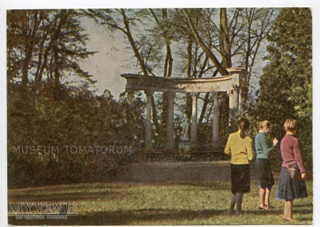 Łańcut - Park - 1961