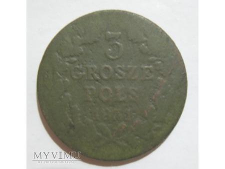 Duże zdjęcie 3 GROSZE POLSKIE - Powstanie Listopadowe (1831)