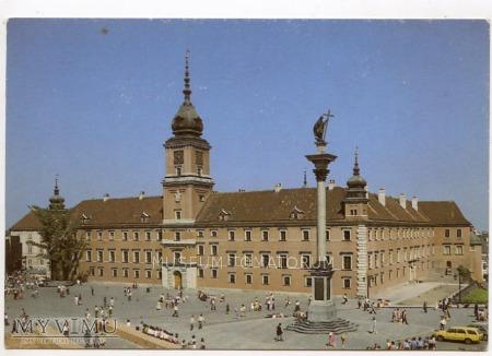 W-wa - Zamek - od placu - 1990-1999