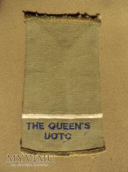 Wieka Brytania - oznaka stopnia: The Queen's UOTC
