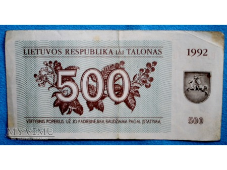 500 Litów
