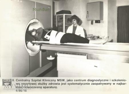 Zdjęcie propagandowe MO: Spital kliniczny MSW