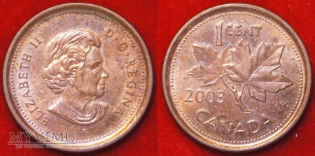Kanada, 1 CENT 2003