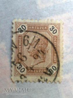 Franz-Joseph 1891/96 30 Krajcar austro-węgierski