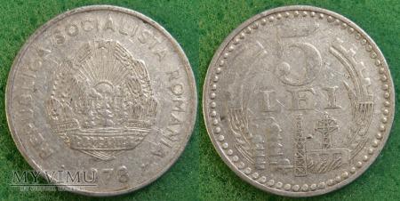 Rumunia, 5 Lei 1978
