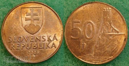 Słowacja, 50 Halierov 2006