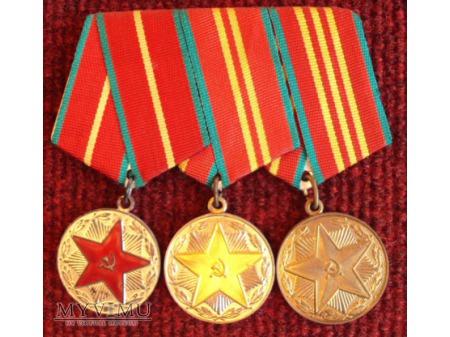 Medal licznik 20,15,10 lat służby
