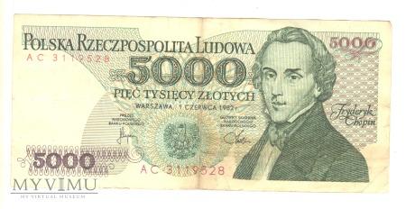5000 ZŁOTYCH 1982