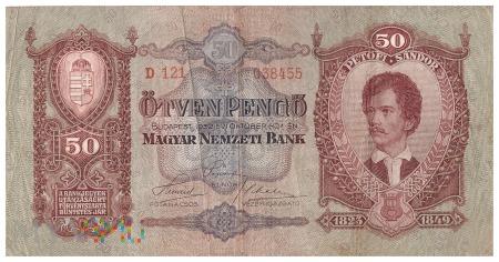 Węgry - 50 pengő (1932)