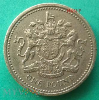1 One Pound Wielka Brytania