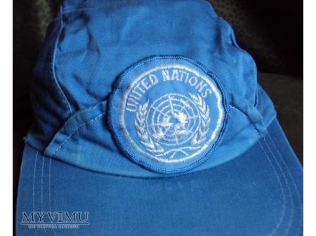 Czapeczka ONZ inny wzór