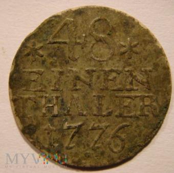 48 EINEN THALER 1776 A