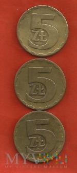 Polska 5 złotych, 1975/1976/1977