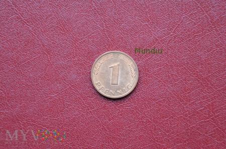 Moneta niemiecka: 1 pfennig