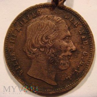 Medalik WILHELM III HOLENDERSKI