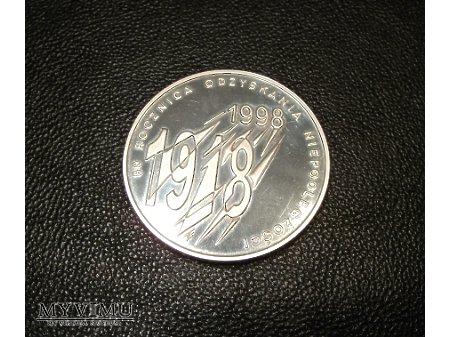 Duże zdjęcie 10 złotych 1998