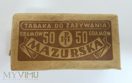 Tabaka MAZURSKA 50g.