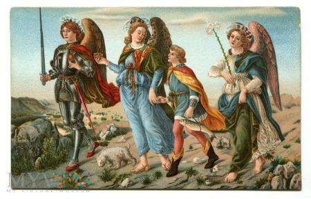 Trzy Archanioły i Tobiasz, Francesco Botticini