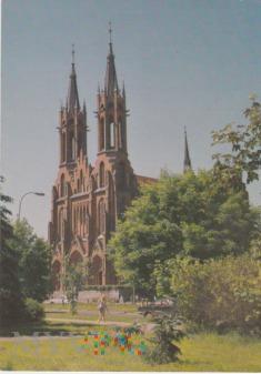 Białystok Neogotycki kościół NMP