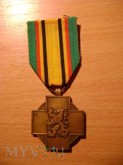 medal belgijski kombatantów II w. św.