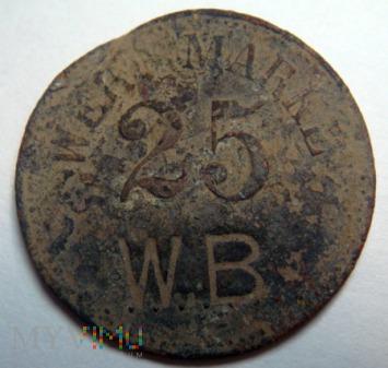 Moneta zastępcza 25 WERTH-MARKE