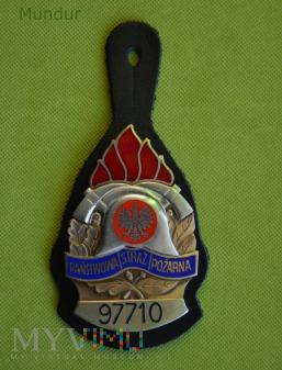 Identyfikator osobisty strażaka PSP
