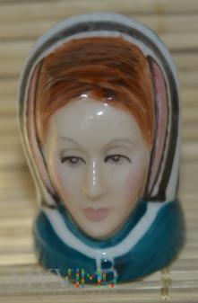 Naparstek -głowa/Anne Boleyn