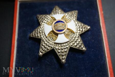 Order Korony Włoch - Gwiazda Komandorii