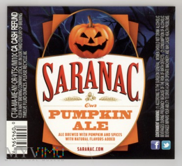 Saranac, Pumpkin ALE