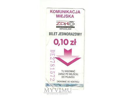 Wrocław 2000 biet za 10gr