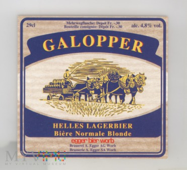 Egger Galopper