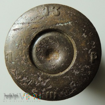 Łuska 7,62x54 R Mosin 13 P III П
