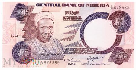 Nigeria - 5 naira (2002)