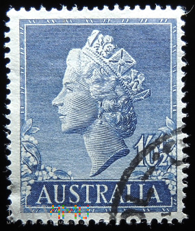 Australia 1'0 1/2s Elżbieta II