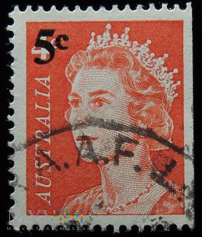 Australia 4c/5c Elżbieta II