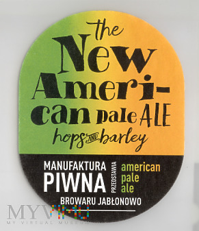 Duże zdjęcie The New American Pale Ale