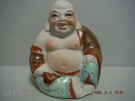 śmiejący się mały Budda