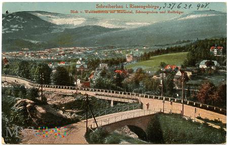 Karkonosze - Schreiberhau - panorama